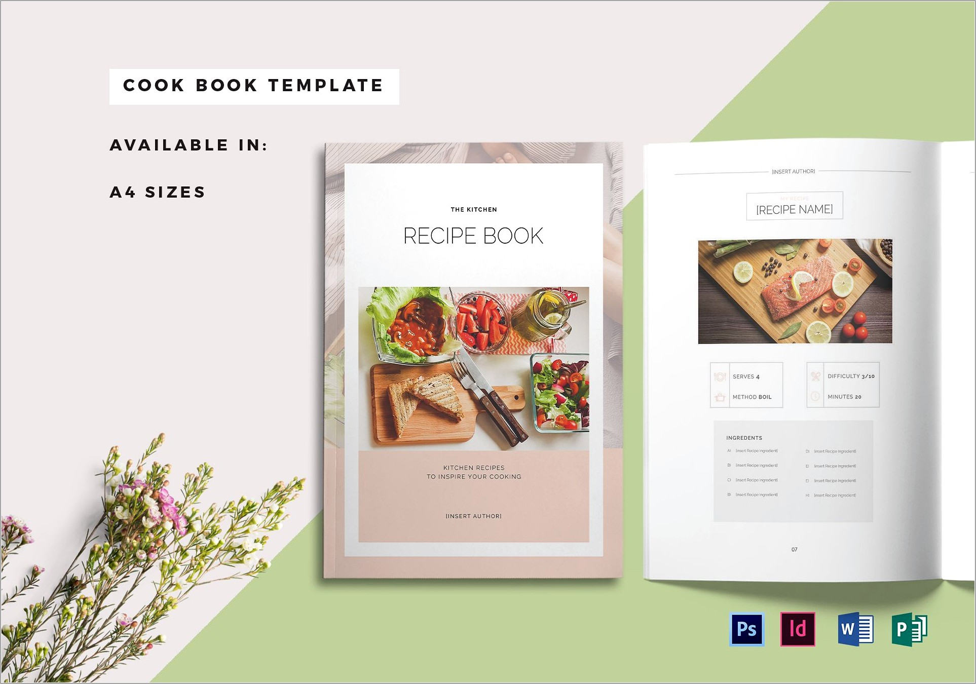 Indesign Template For Cookbook