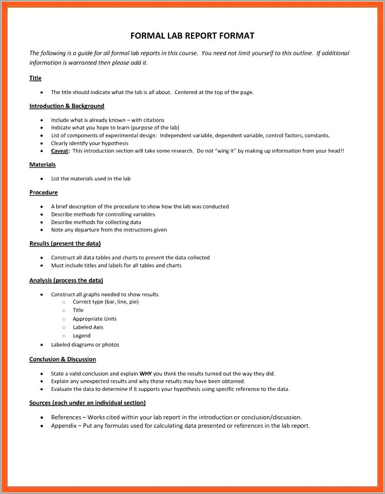 Internal Audit Policy And Procedure Template