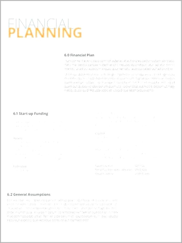 Investor Proposal Letter Template