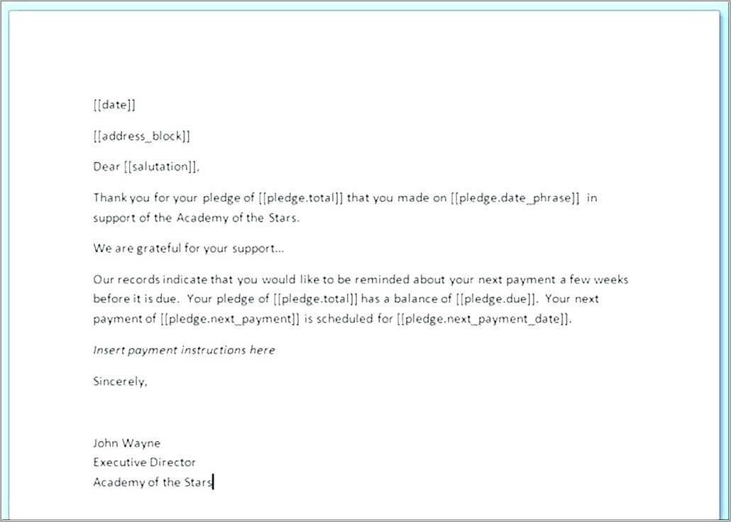 Invoice Reminder Email Wording