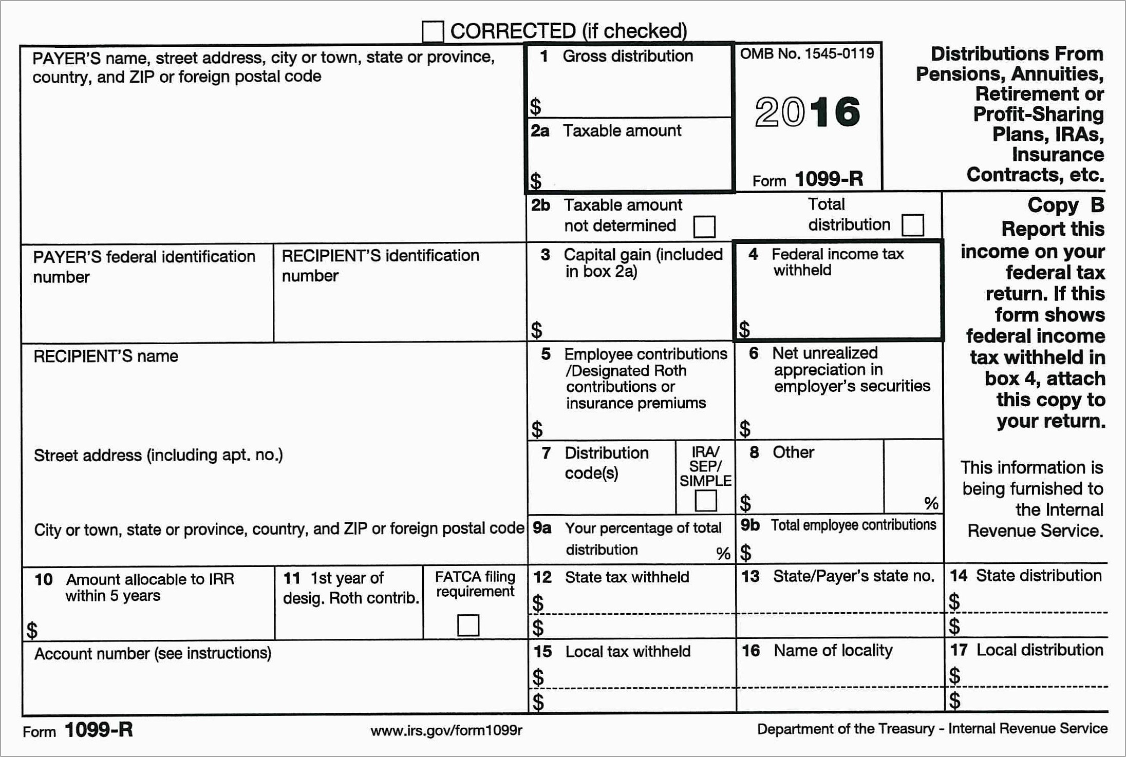 Irs 1099 Misc Template