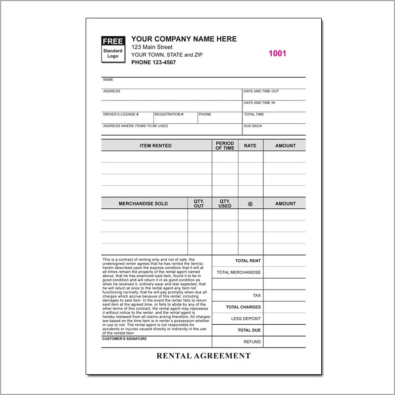Landscaping Invoice Template Pdf