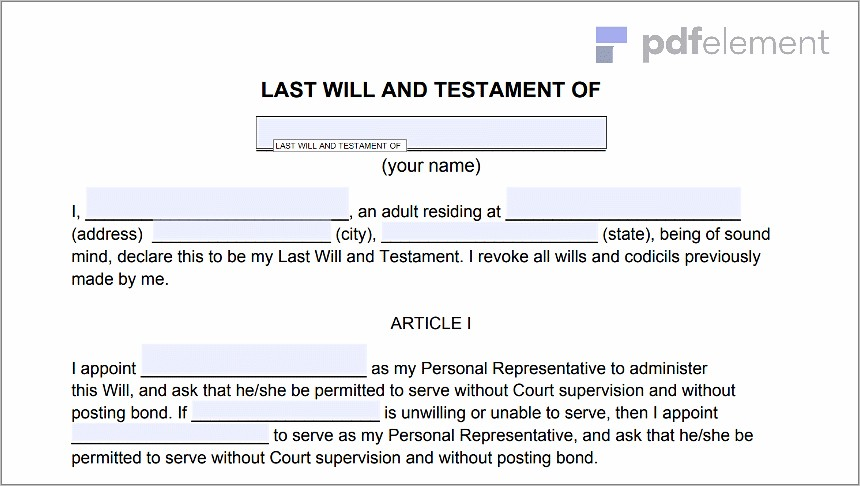 Last Will And Testament Florida Notary (107)