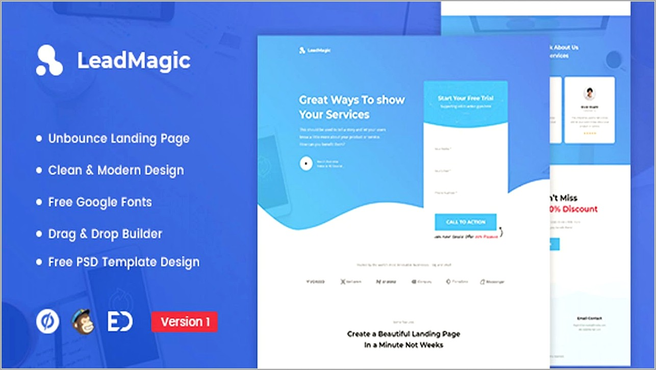 Lead Generation Landing Page Templates
