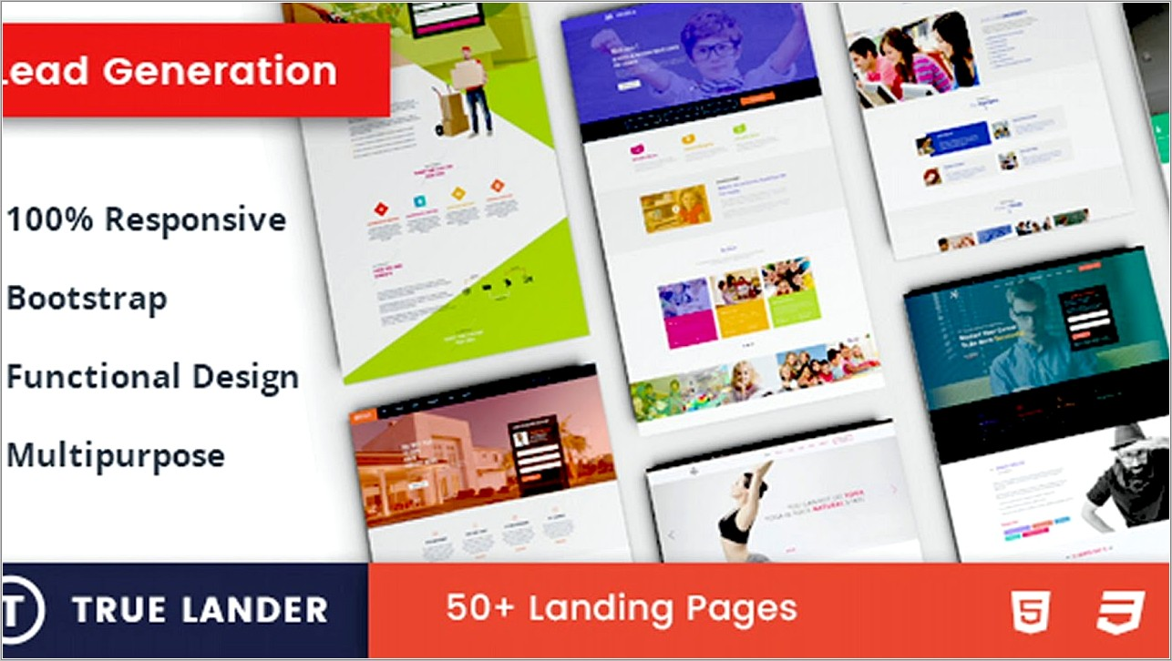 Lead Generation Landing Pages Templates