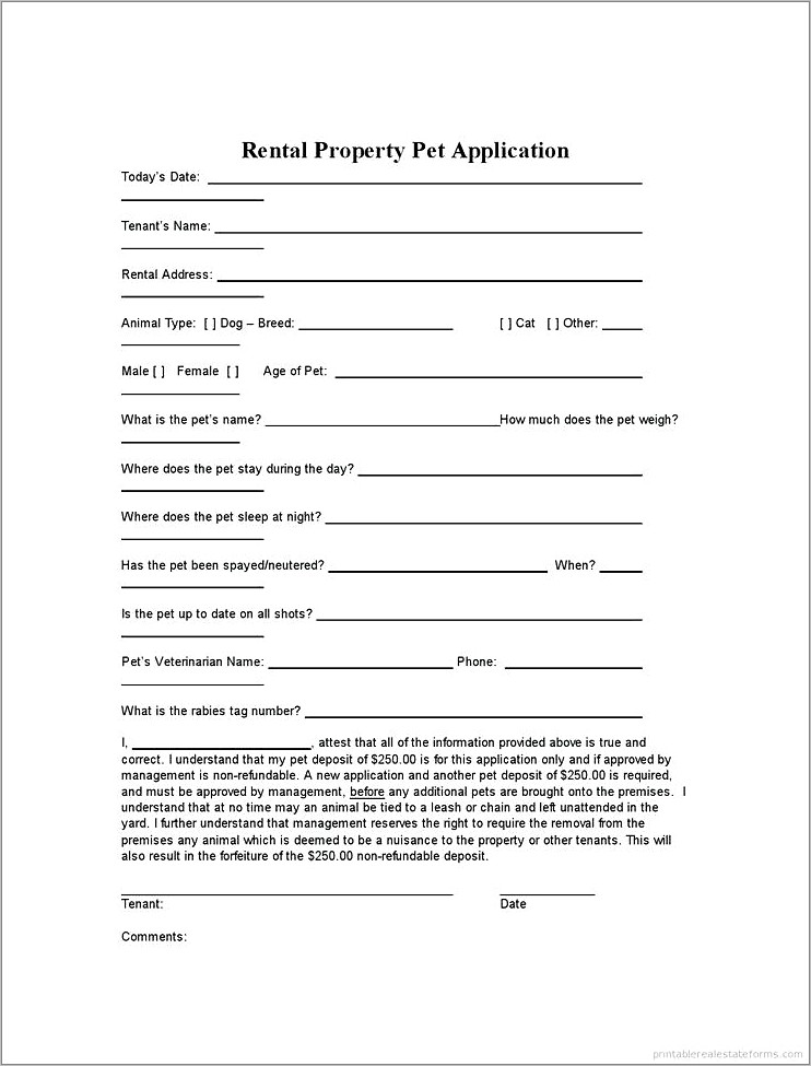 Lease Agreement Template South Africa Word Doc