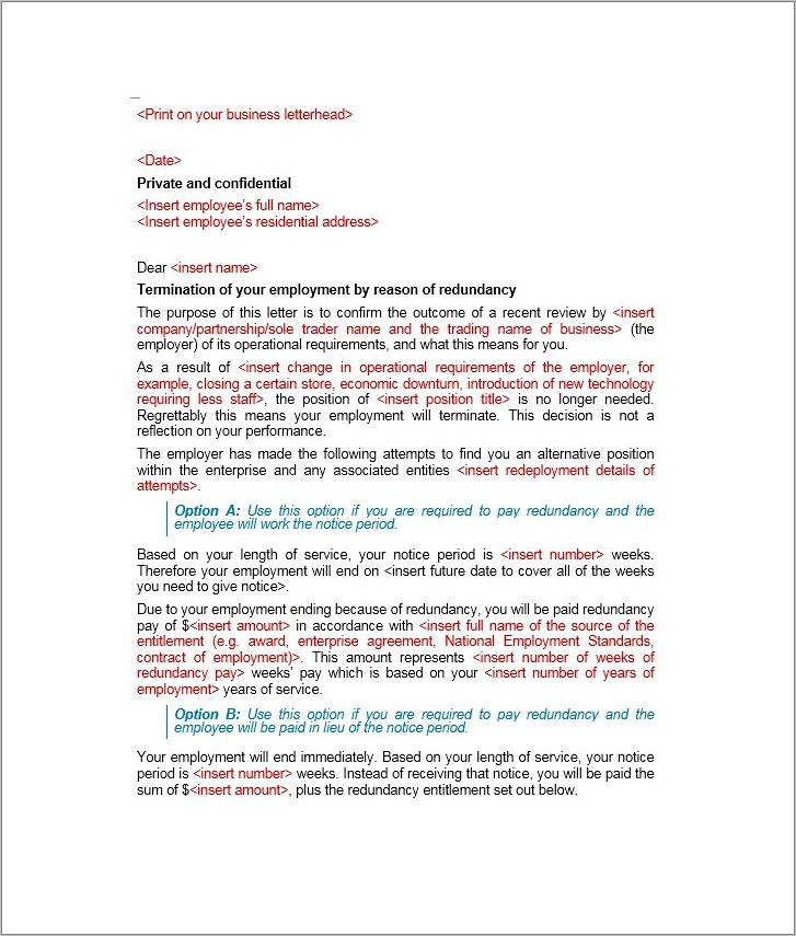 Lease Termination Letter Samples