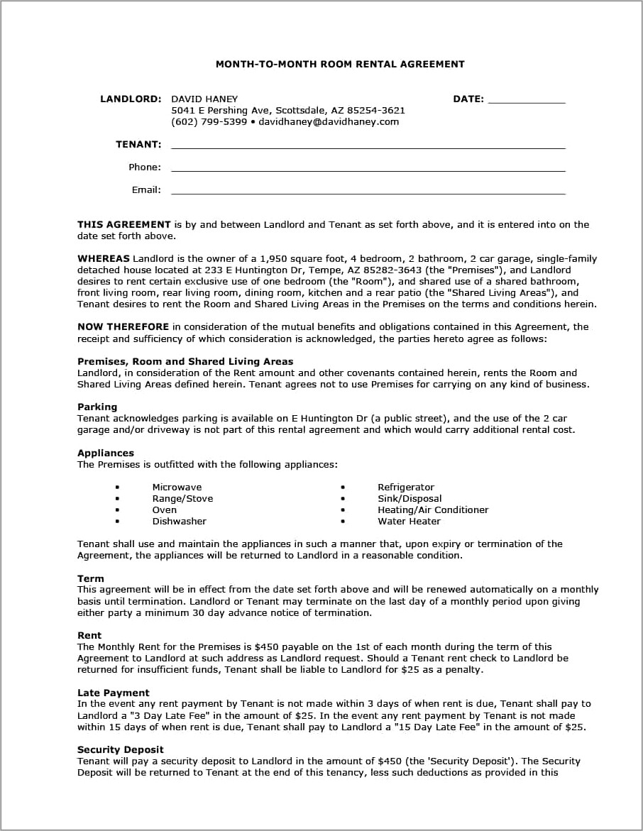 Lease Termination Letter Template To Landlord