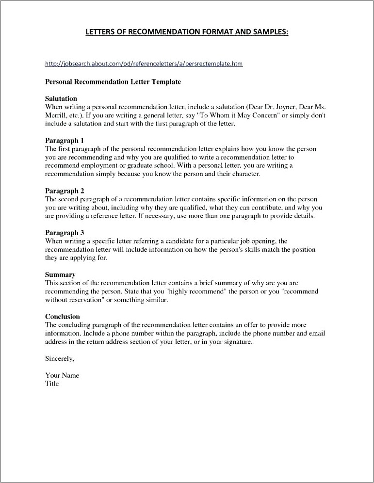 Letter Of Intent Template For Grad School