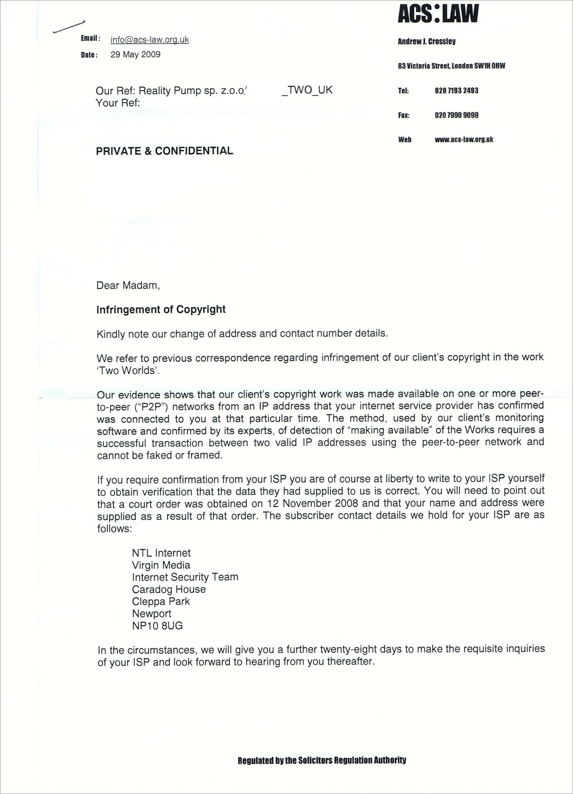 Letter Of Intent To Sue Template Uk