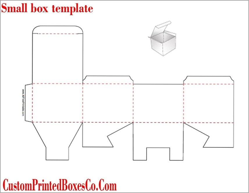 Lip Balm Display Box Template