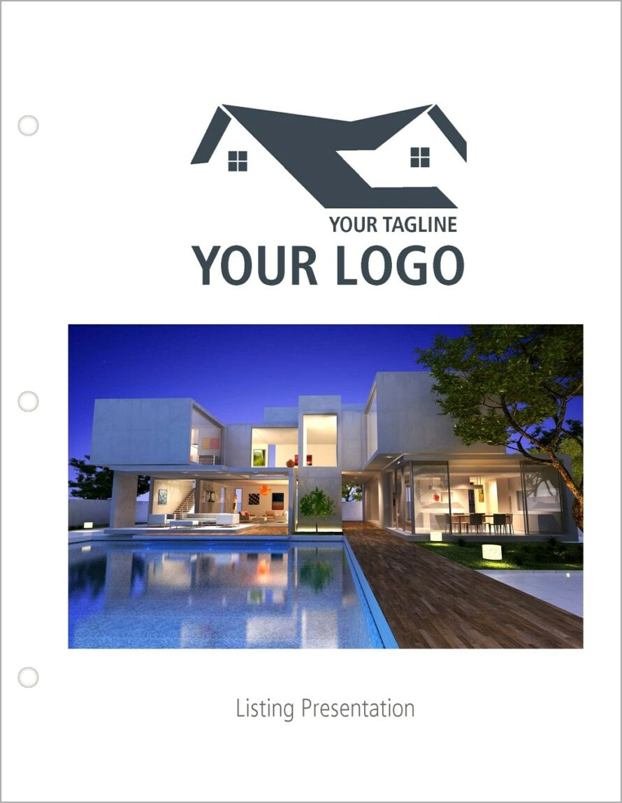 Listing Presentation Real Estate Template