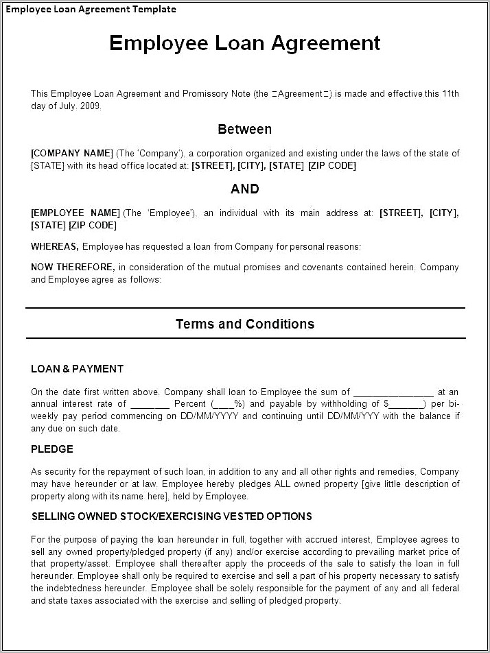 Live In Caregiver Employer Employee Contract Template