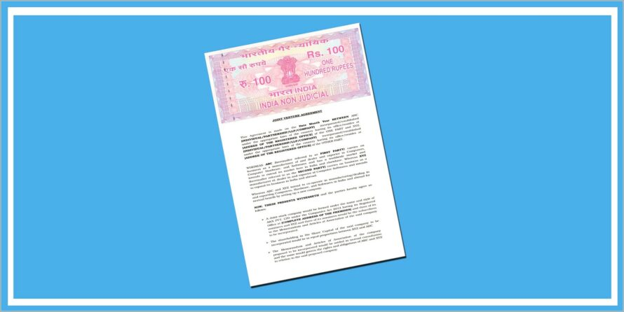Llp Agreement Sample India