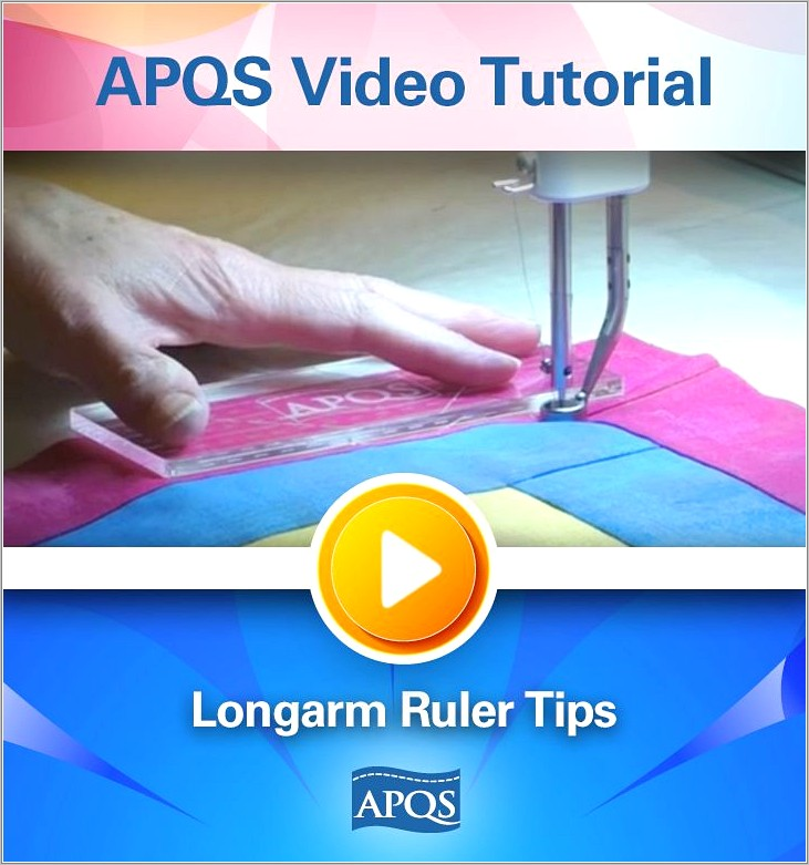 Longarm Quilting Rulers Templates And Guides