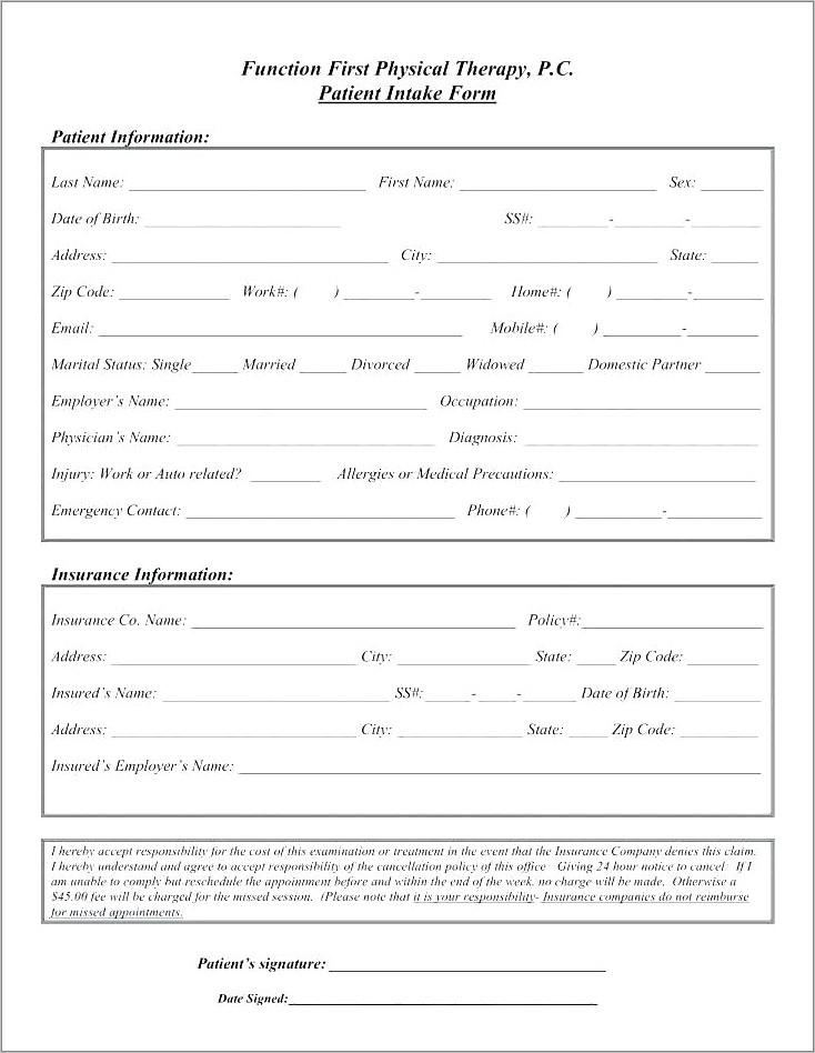 Lost Receipt Form Template Word