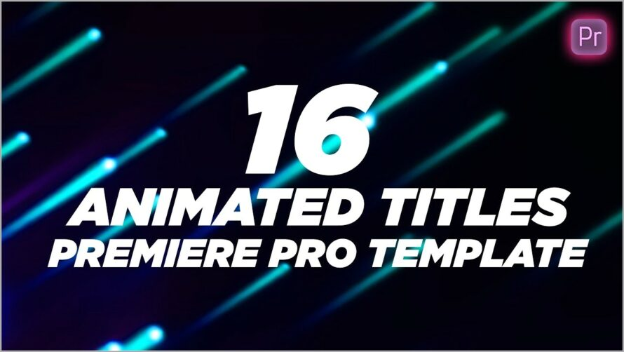 Lower Thirds Templates Free Download Premiere Pro