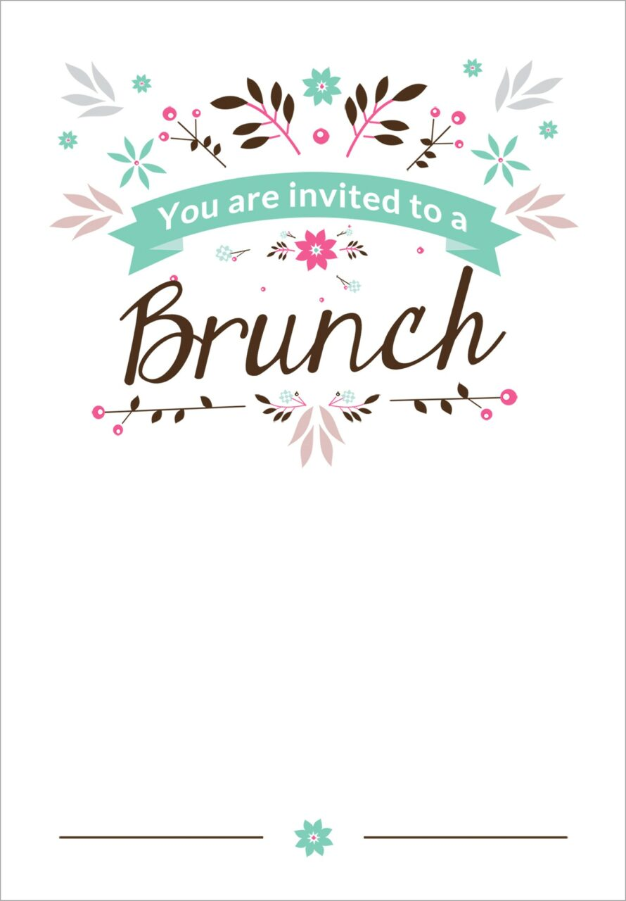 Lunch Invitation Templates Free Download