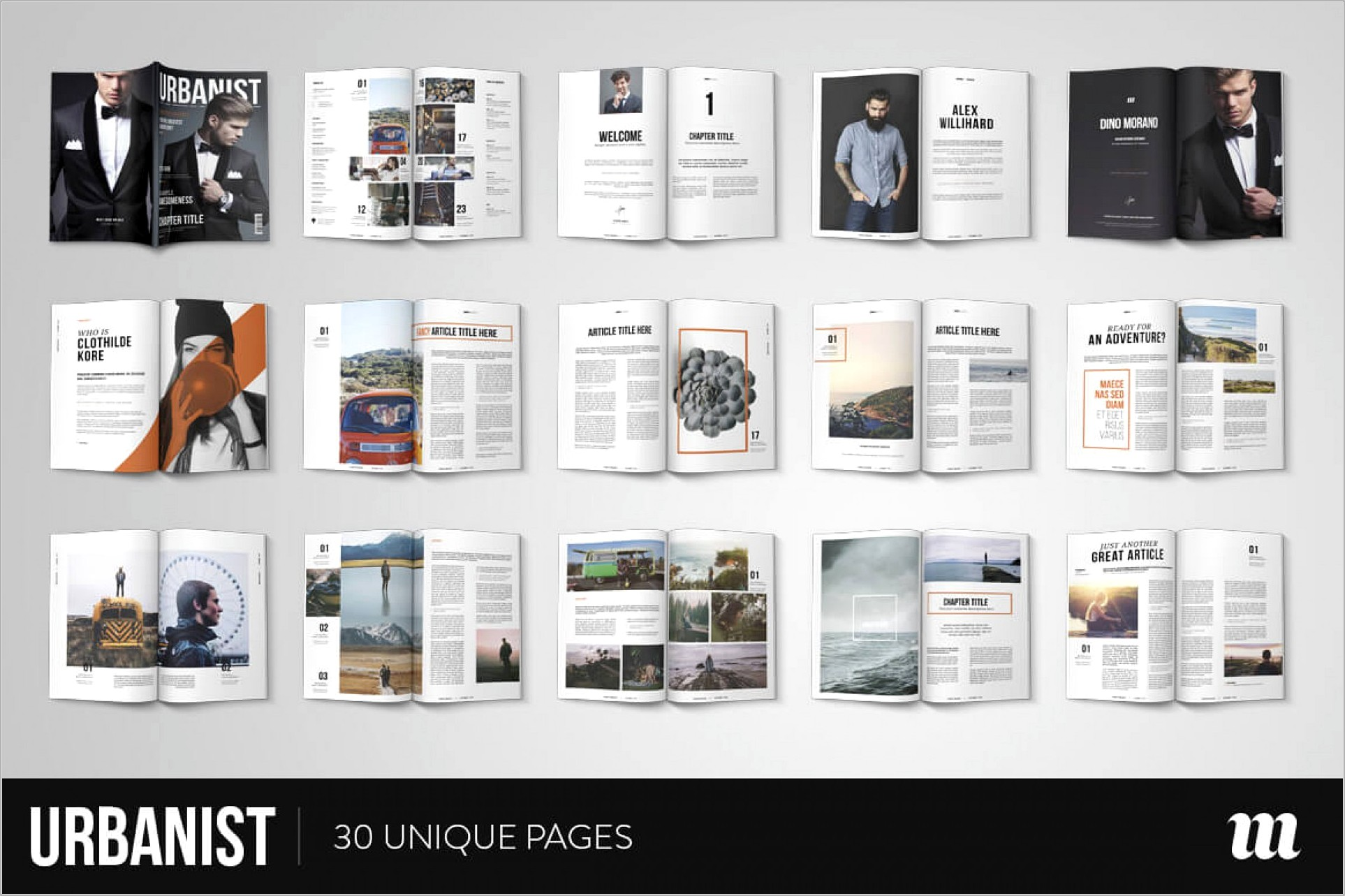 Magazine Layout Template Indesign Free