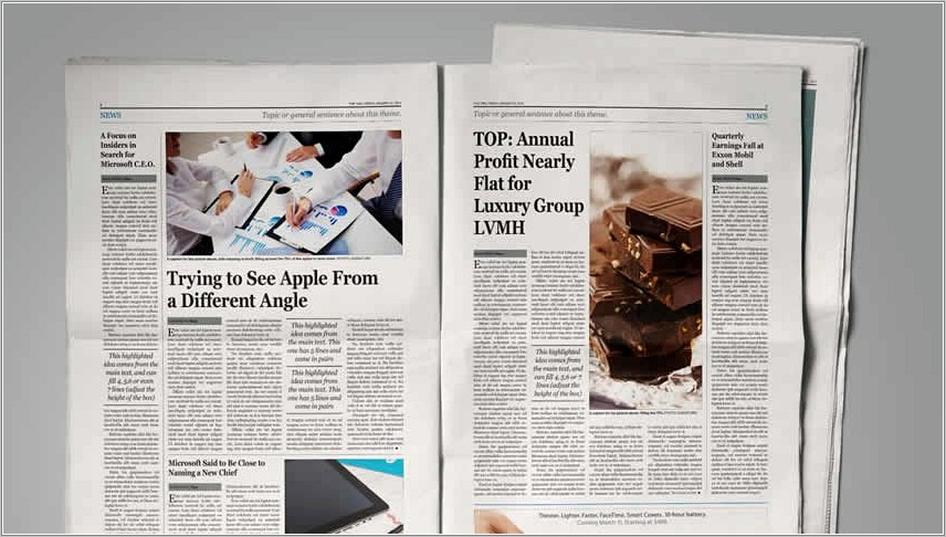 Magazine Layout Templates For Indesign Free