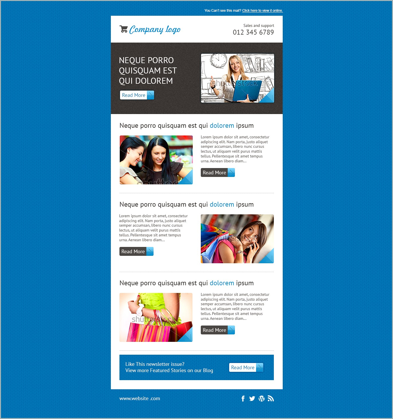 Mailchimp Email Template Free