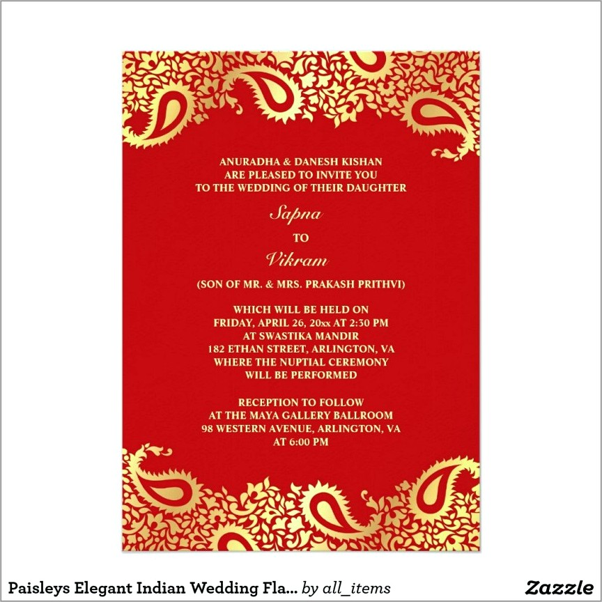 Marriage Invitation Message Format For Friends