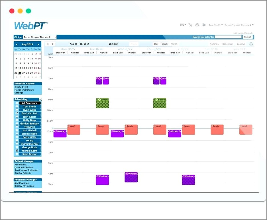 Medical Office Appointment Scheduling Template