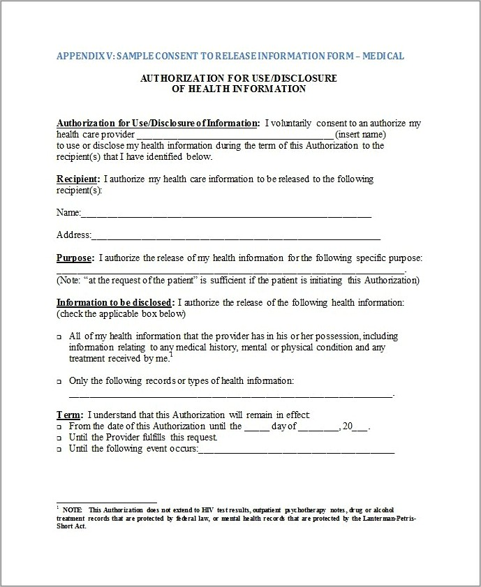 Medical Power Of Attorney Form Florida Child