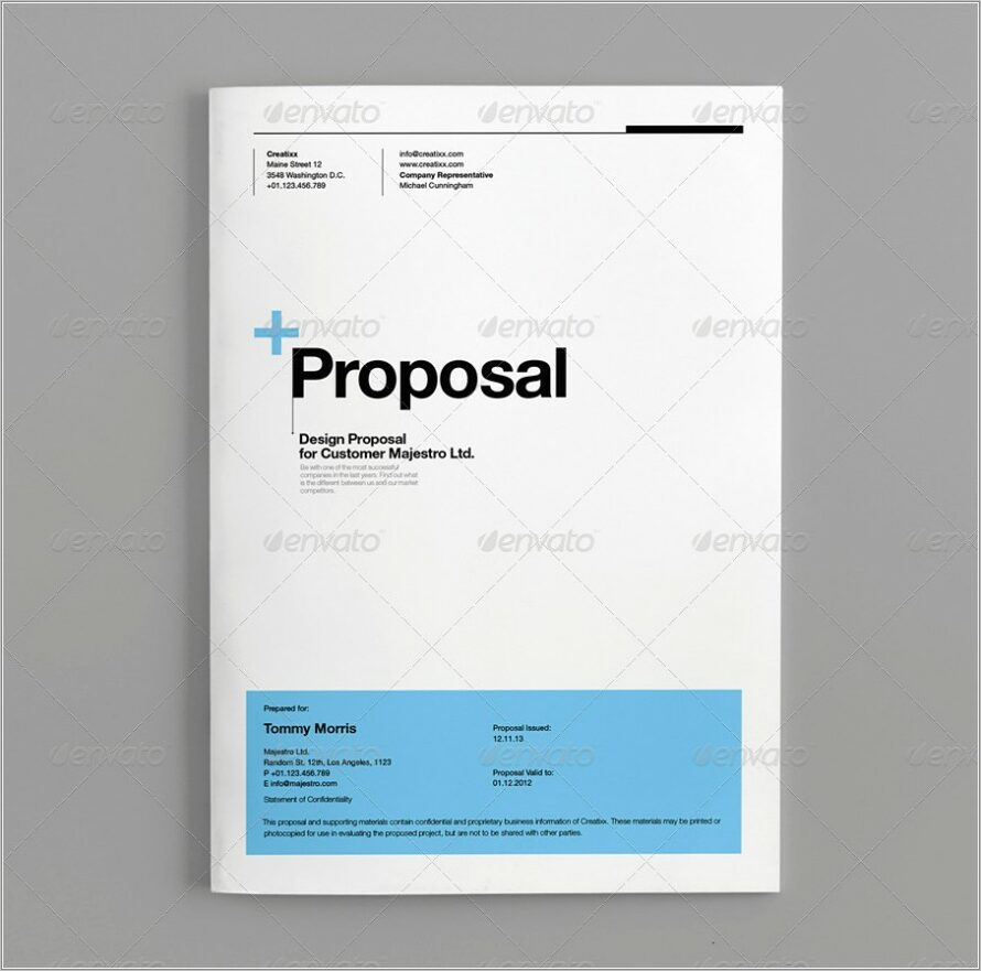 Microsoft Office Proposal Templates Free