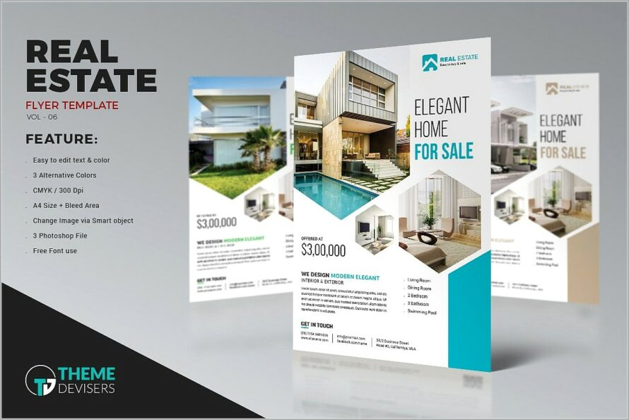 Microsoft Office Real Estate Brochure Templates