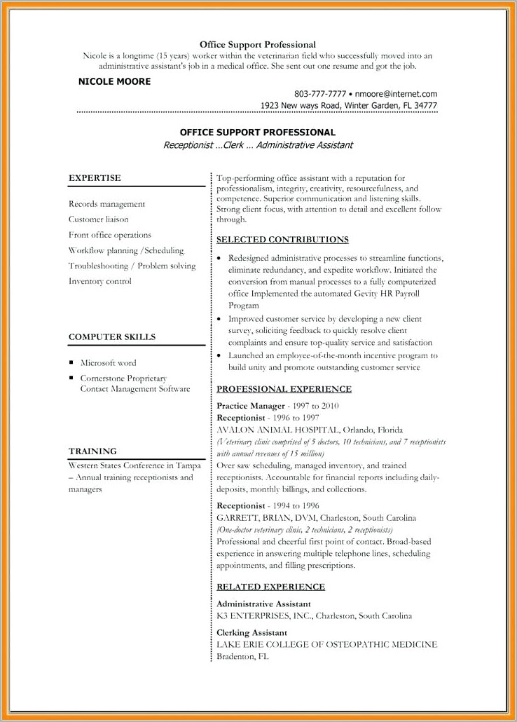 Microsoft Office Resume Templates For Mac