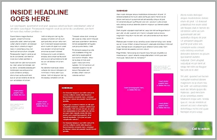 Microsoft Office Templates For Brochures