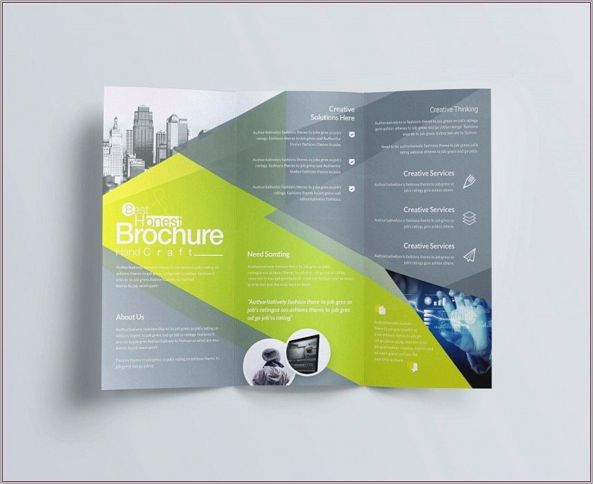 Microsoft Publisher 2007 Brochure Templates Free Download