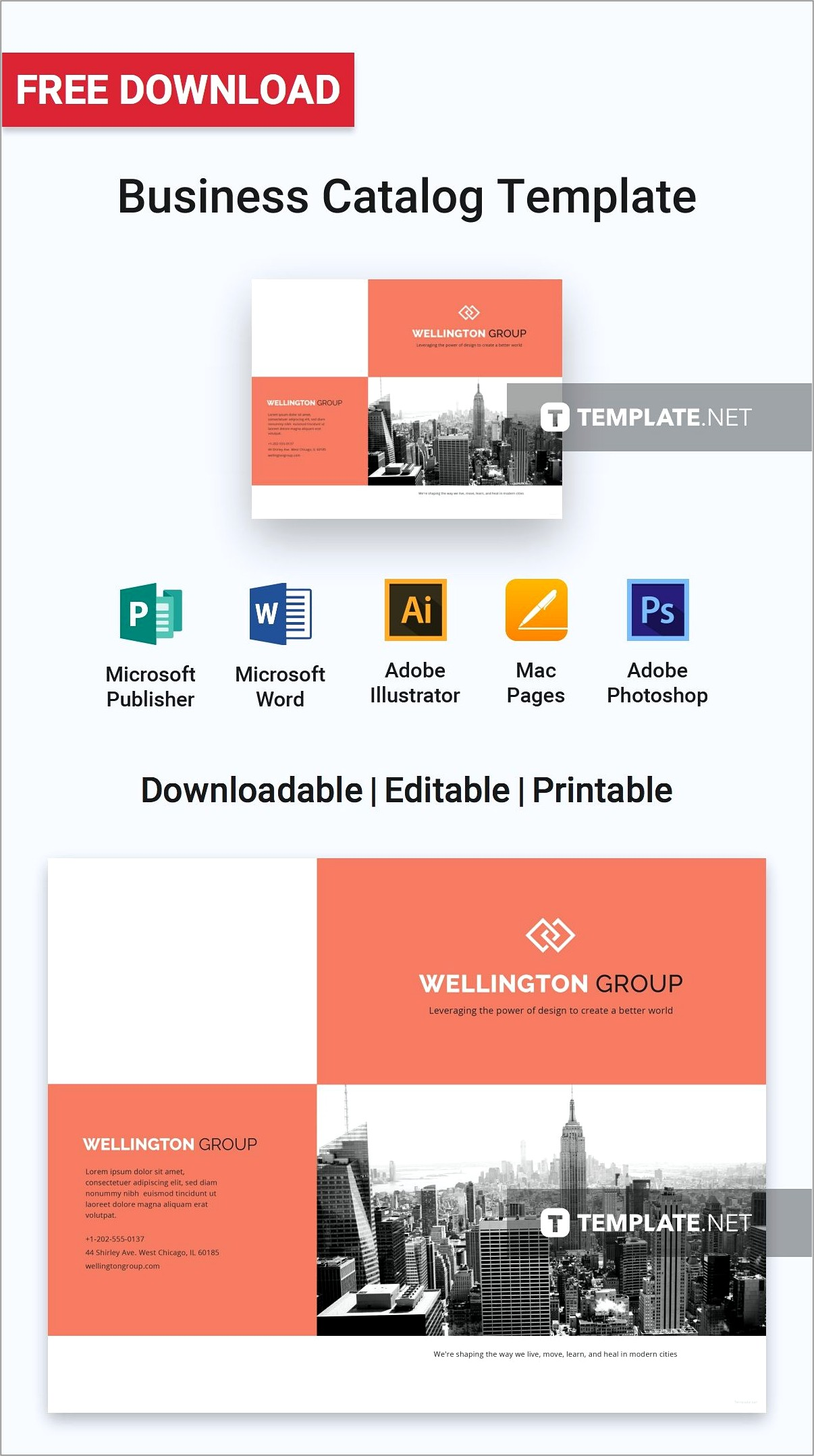 Microsoft Publisher Catalog Templates Free