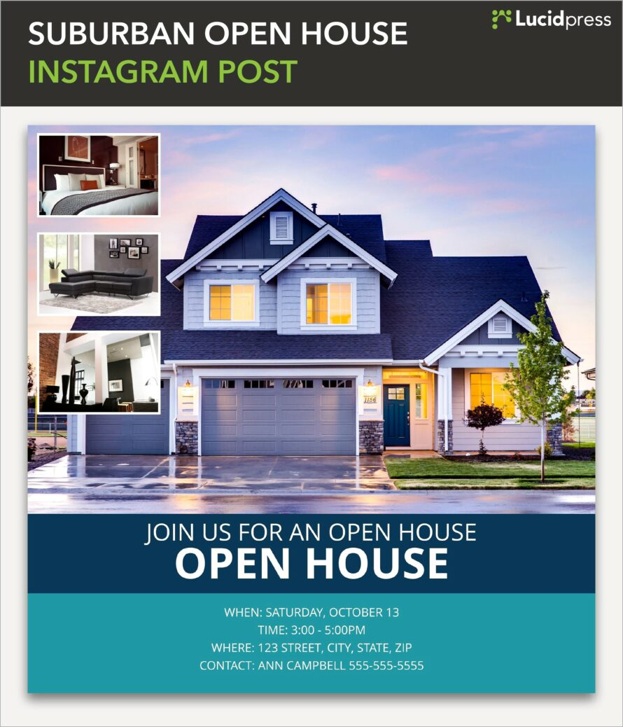 Microsoft Template Real Estate Flyer