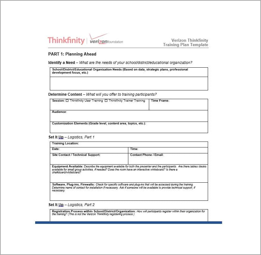 Microsoft Templates For Training Manuals