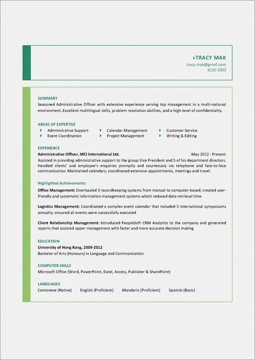 Microsoft Templates Resumes And Cvs