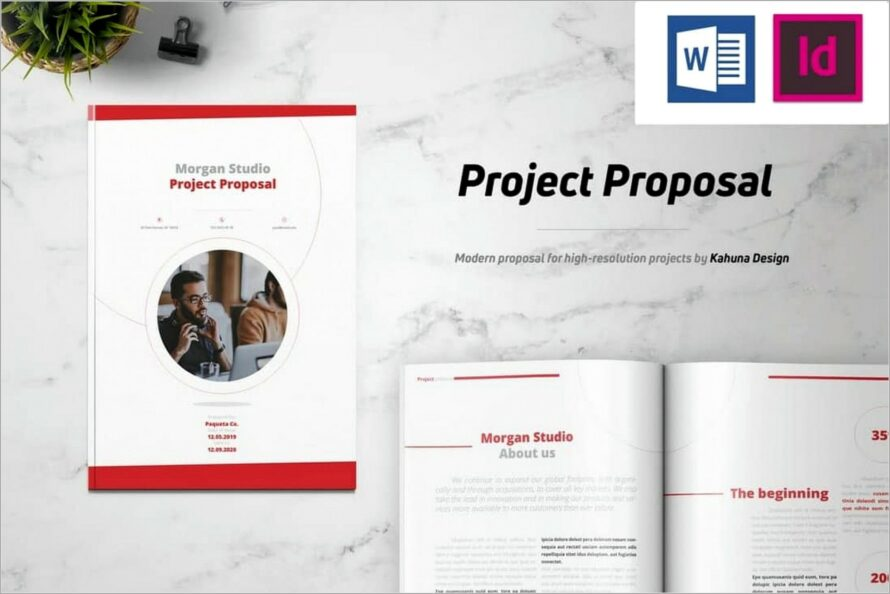 Microsoft Word Project Proposal Templates