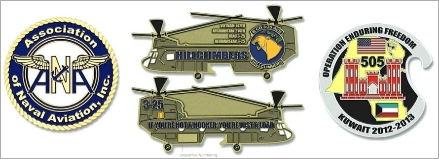 Military Coin Design Template