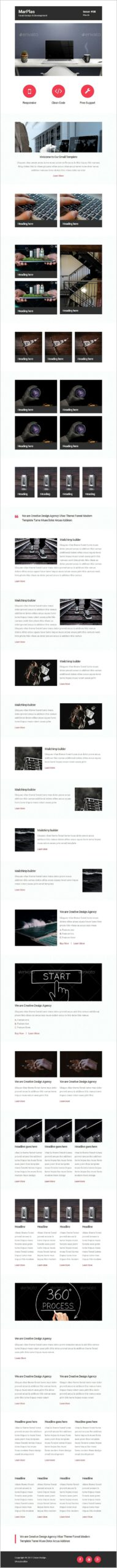 Mobile Responsive Email Template Design