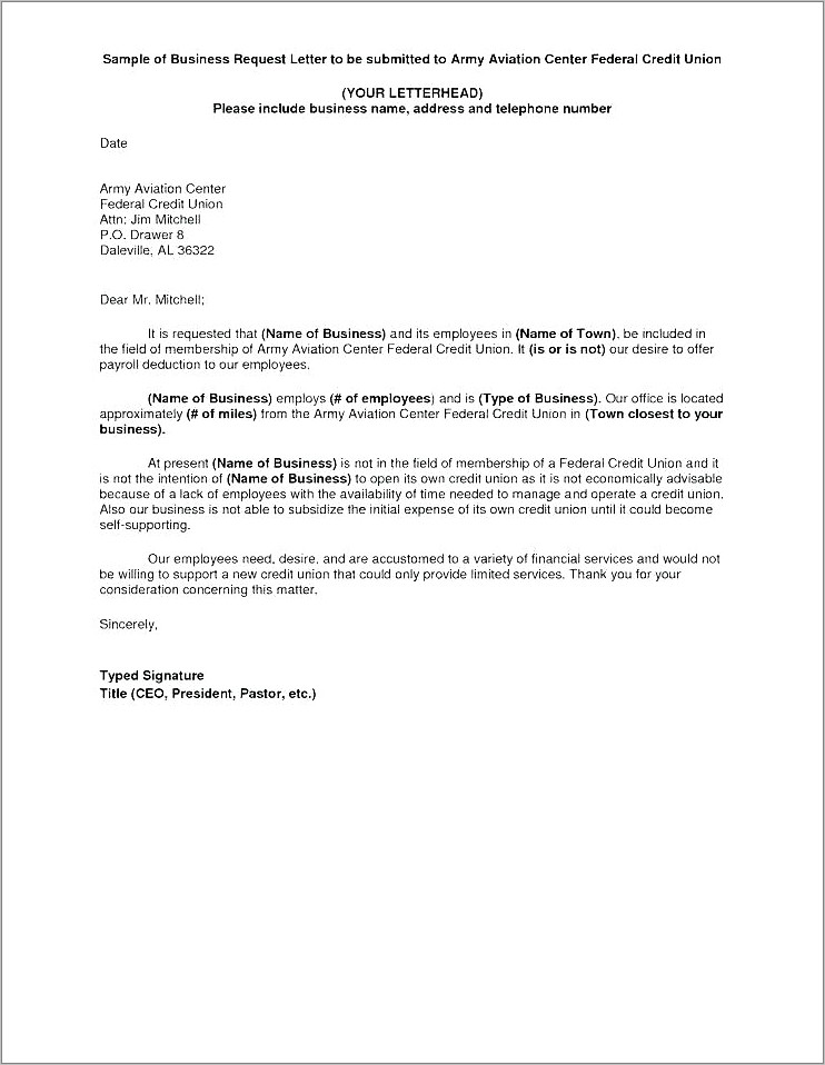 Mortgage Payoff Request Letter Template