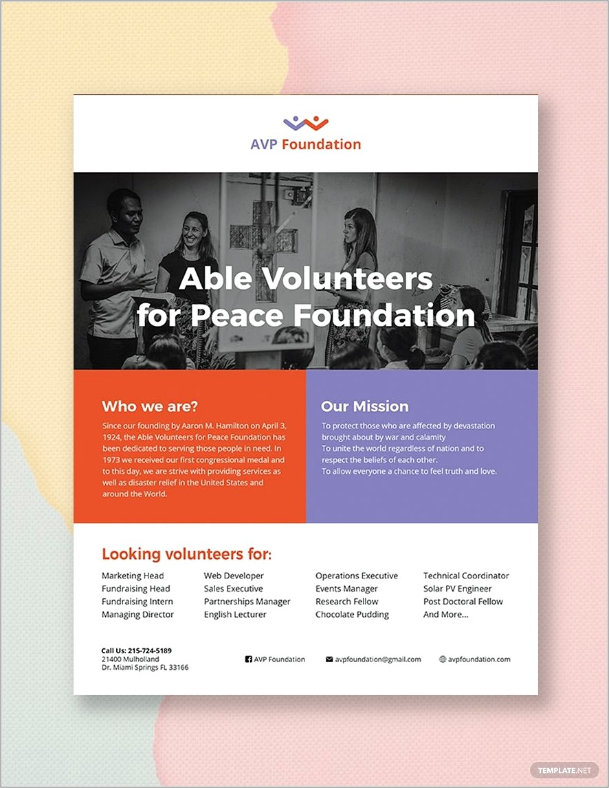 Ms Publisher Flyer Templates Free