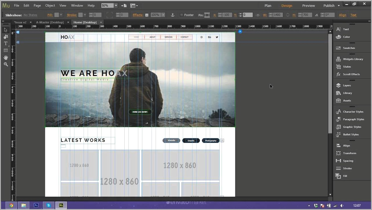 Muse Cc Templates Free Download