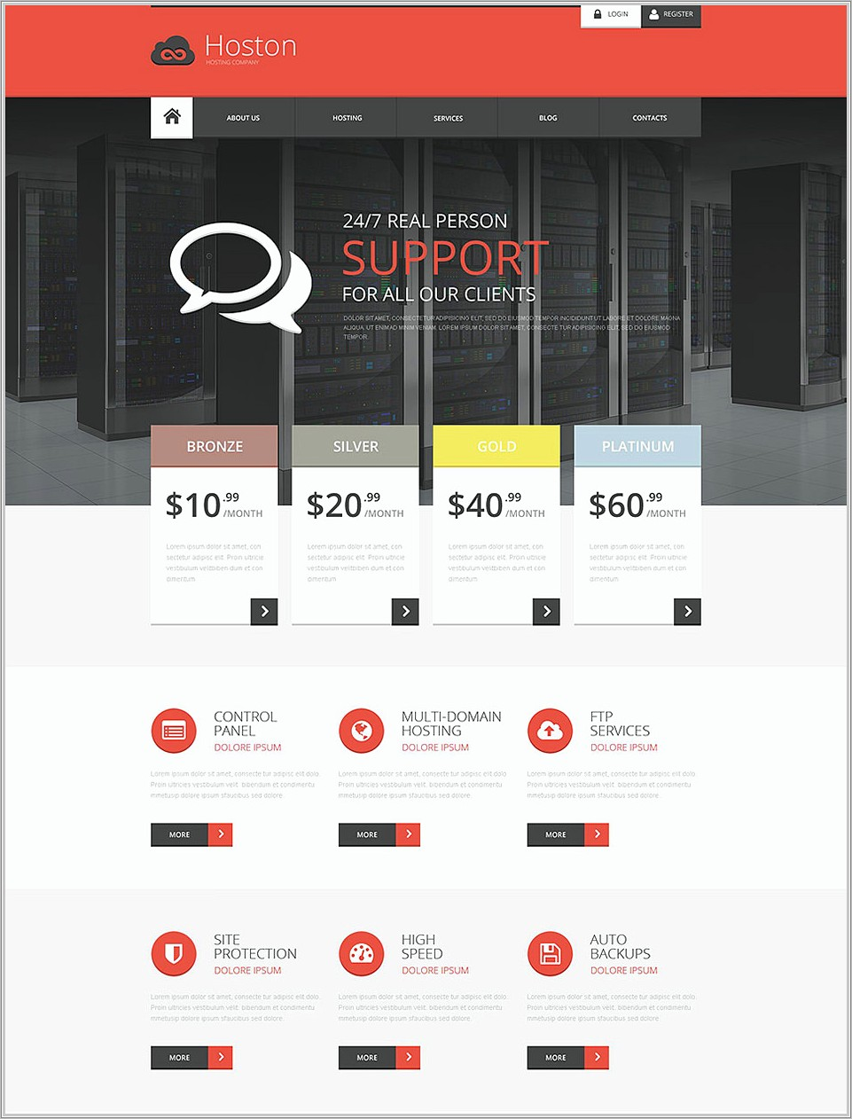 Muse Responsive Templates Free