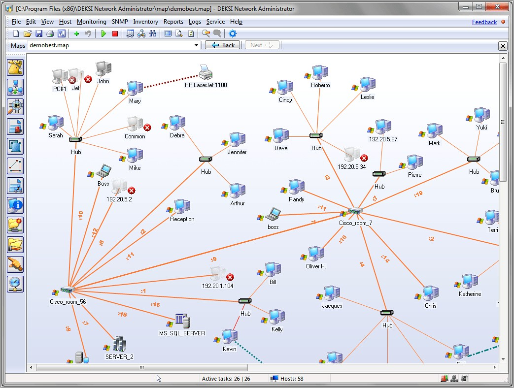 Network Rack Visio Stencil Download