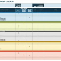 New Hire Onboarding Process Template
