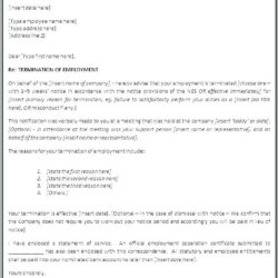 Notice For Cancellation Of Contract Format