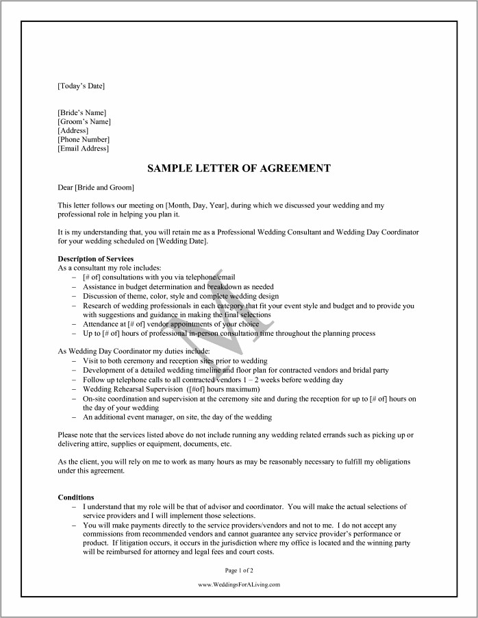 Notice Of Termination Of Contract Sample