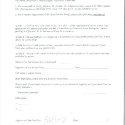 One Way Nda Agreement Template