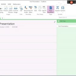 Onenote Project Management Notebook Template